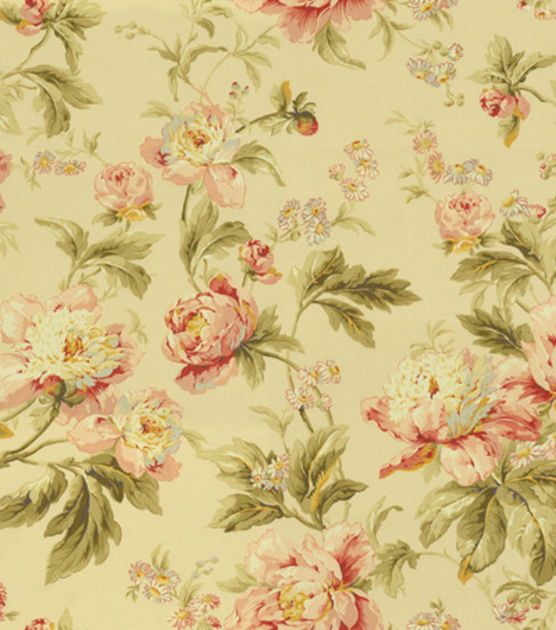 Waverly upholstery fabric forever yours antiuque for Waverly wallpaper