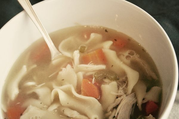Ina Garten's Chicken Noodle Soup Recipe