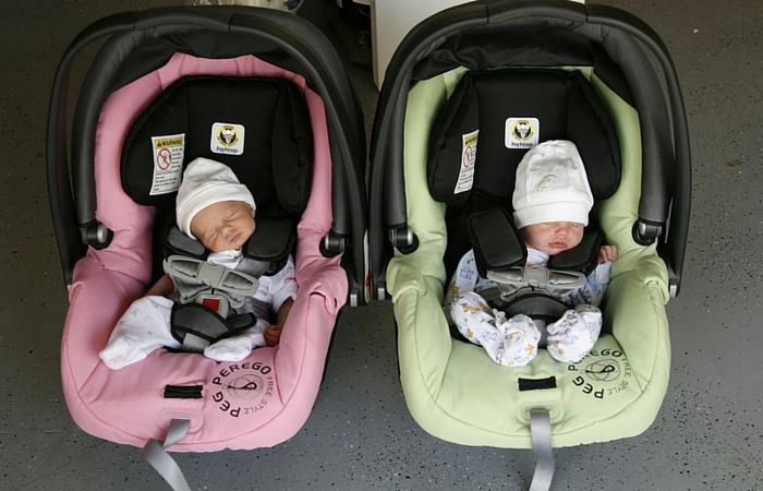 Running errands alone is usually desirable, but sometimes impossible when you have twins, or more. Here are some tips to help you survive.