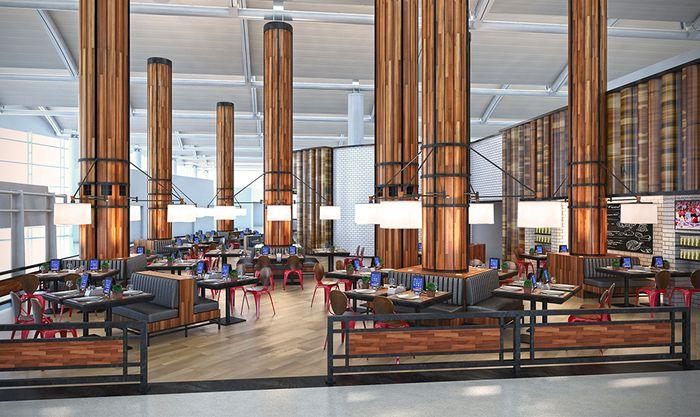 Latest Entries Nonna S Meatball Kitchen Newark United States Leisure Bar Design Restaurant Newark Airport Bar Design Awards
