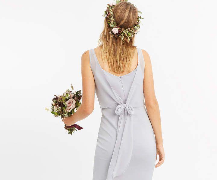 Oasis Slinky Bow Maxi Dress Slinky Oasis Bow Maxi Bridesmaid Dresses Bridesmaid Dress Sizes Grey Bridesmaid Dresses