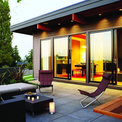 Beautiful patio doors.