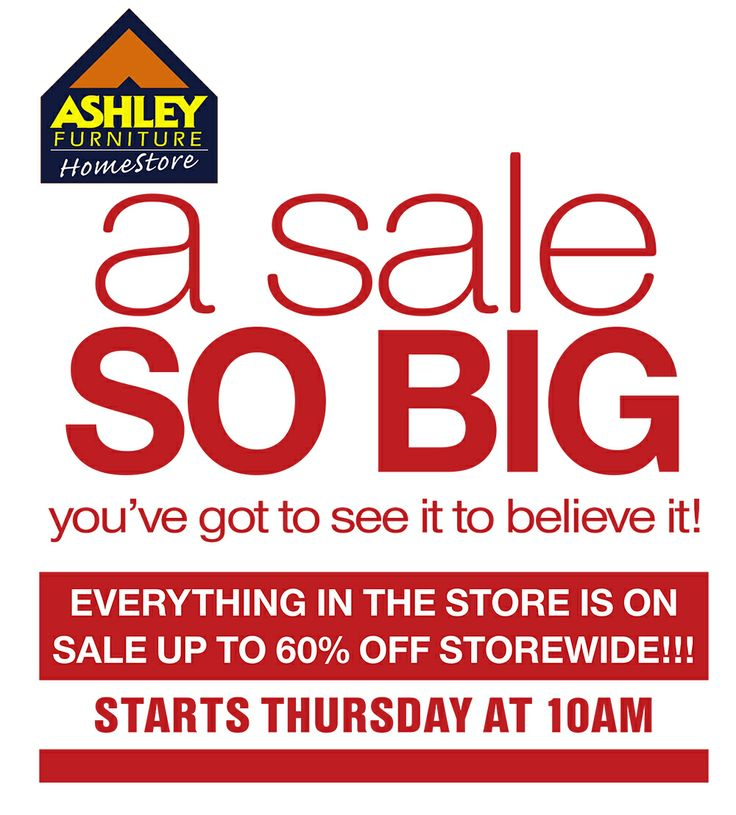 A Sale So Big you've got to see it to believe it