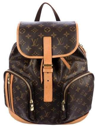 744d7a5ab38d Louis Vuitton 2017 Monogram Bosphore Backpack in 2019