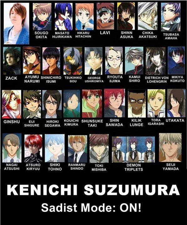 Kenichi Suzumura, Hikaru's seiyuu ♥