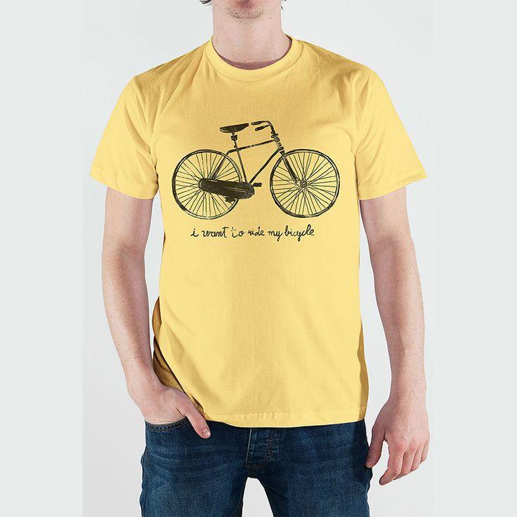 Fausto Montanari - Bicycle -Basic T-Shirt - 19€
