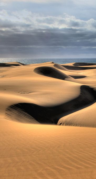Dunes of Maspalomas, Gran Canaria, Spain
