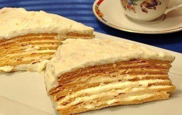 "Торт ""Парижский коктейль"""