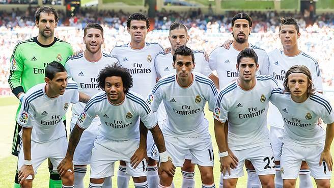 Real Madrid Team 2013/14