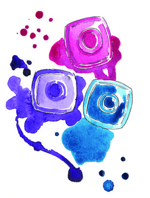 Nail polish by Gemma Milly.