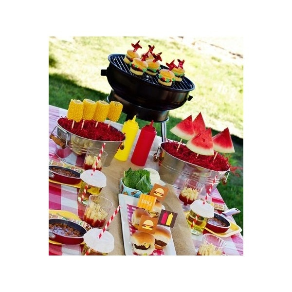17 Best Images About BBQ Party Decor On Pinterest Bbq