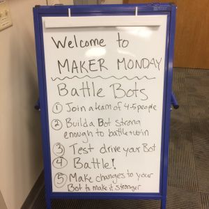 Maker Monday: Battle Bots