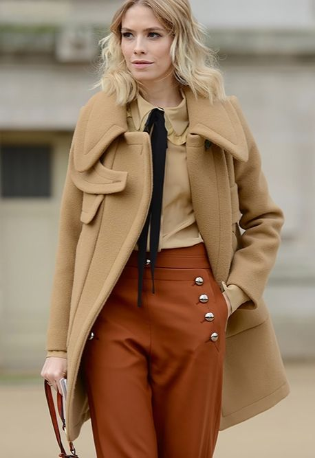 crazy about all the shades of camel.