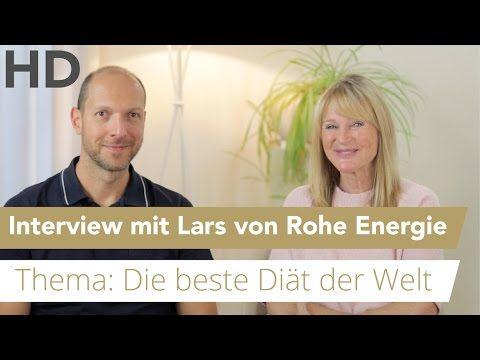 """""""Die beste Diät der Welt"""" - Interview mit Lars von Rohe Energie / Vegan, Fasten, Diät - YouTube"""