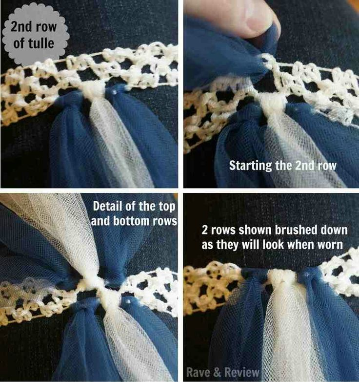 How to create a no sewing tutu!!