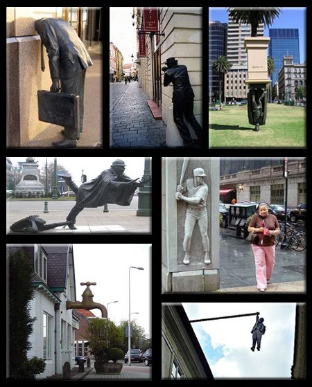 Strange and Subversive Statues