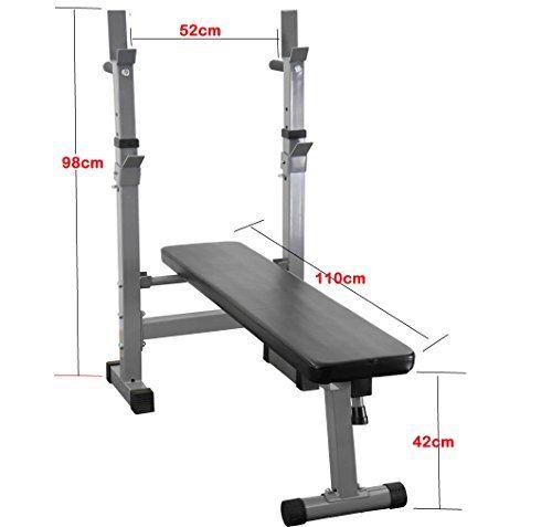 Importación de productos de amazon Banco De Pesas Plegable Ajustable Gimnasio Fitness Bench Ejercicios De Entrenamiento Bench -