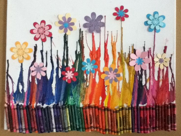 crayon art- so cool!