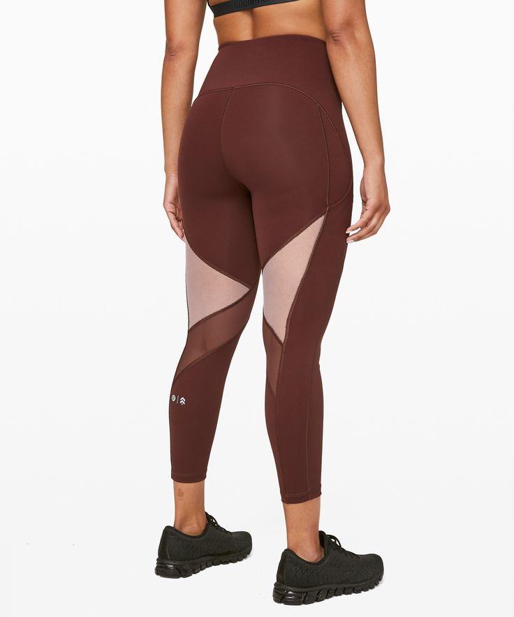 """lululemon Women's Stronger As One Legging 25"""" lululemon X Barry's, Midni... 2"""