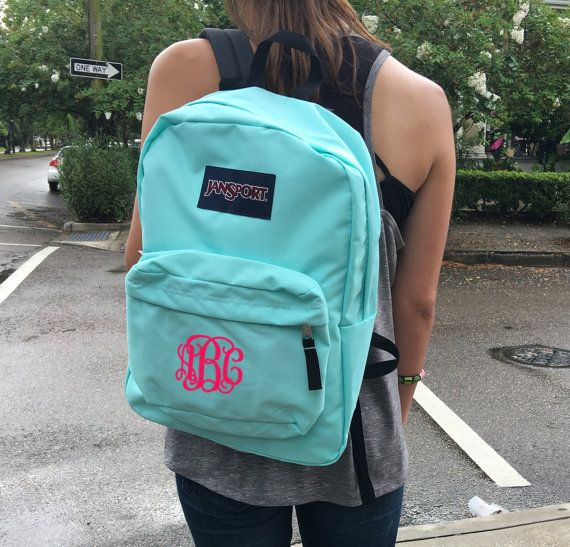 Jansport Backpack with Custom Embroidered by CampusConnection