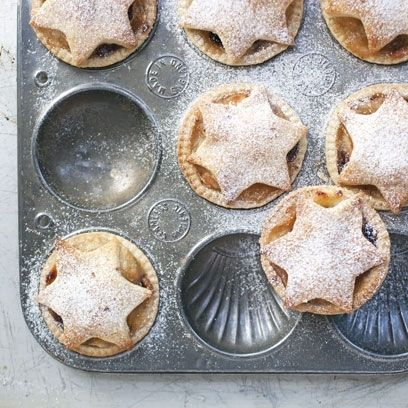 Bake these pretty apple cranberry mince pies for an unusual twist on the classic.