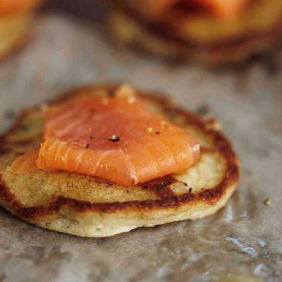 As a nod to their Norwegian heritage, Sophie Dahl and her family ate blini (mini pancakes) topped with smoked salmon every Christmas Eve. Now Dahl mak...