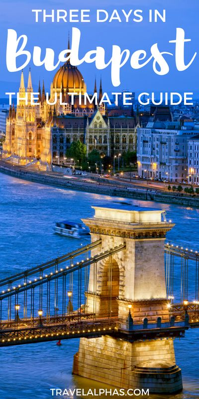 Looking for some Budapest travel inspiration? Here is the ultimate guide to three days in Budapest, Hungary, including the city's best museums, restaurants, ruin bars, tours, and more! This post is sure to fuel your European wanderlust. Thanks for pinning!