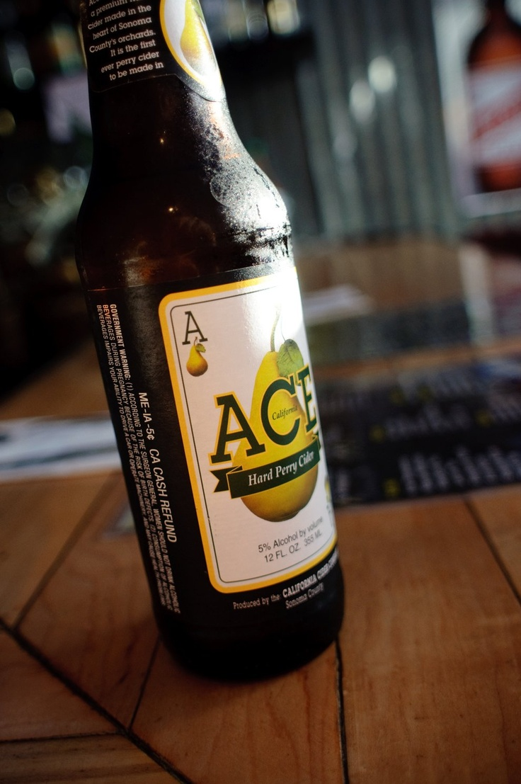 """Ace Hard Perry Cider: I call this my """"girly beer""""."""