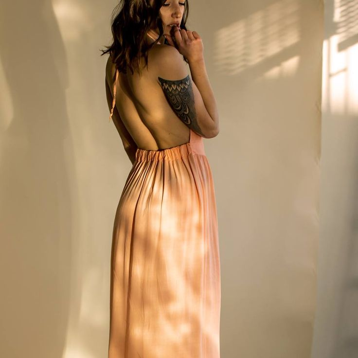 Old Cuban Peachy Dress - exclusive  by myfashionfruit.com