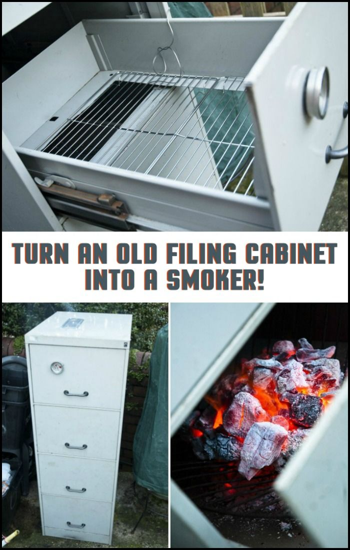 25 Best Ideas About Filing Cabinet Smoker On Pinterest