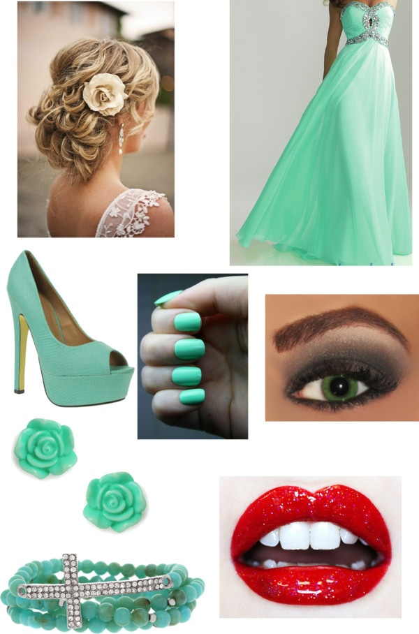 """Prom :3 -ari"" by lmode-22201 ❤ liked on Polyvore"