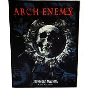 Arch Enemy Doomsday Machine Back Patch