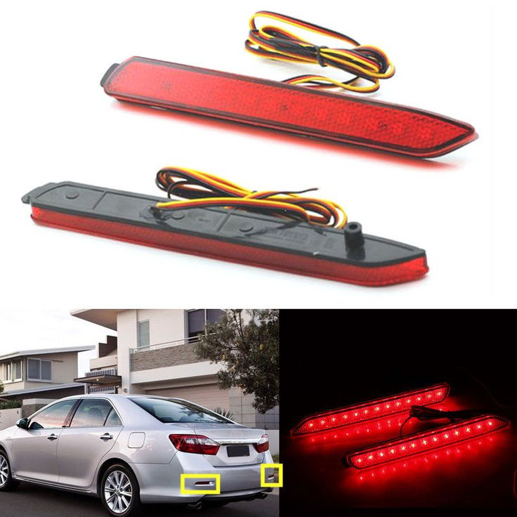 $21.00 (Buy here: https://alitems.com/g/1e8d114494ebda23ff8b16525dc3e8/?i=5&ulp=https%3A%2F%2Fwww.aliexpress.com%2Fitem%2FCar-accessories-For-Toyota-Reiz-Camry-2009-2010-2011-2012-lED-Reflector-Tail-Rear-Bumper-Light%2F32736810311.html ) Car accessories For Toyota Reiz Camry 2009 2010 2011 2012 lED Reflector Tail Rear Bumper Light Stop Brake Lamp Fog Light for just $21.00