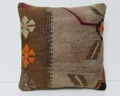 kilim pillow shabby chic pillow 16x16 rustic fabric southwest pillow case decorative accessories southwestern pillow bed pillow cover 25239