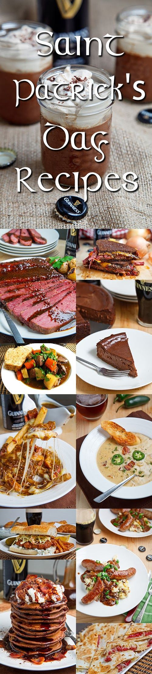 St Patrick's Day Recipes {Closet Cooking}... the slow cooker corned beef sure looks good, as does the rest!