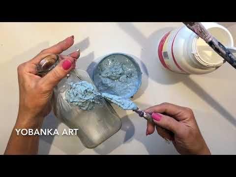 PASTA-YOBI Pasta para cristal y superficies porosas - YouTube