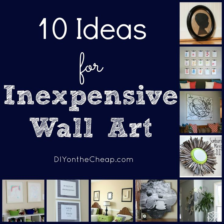 """10 Ideas for Inexpensive Wall Art - especially like the idea of the geographic coordinates -- maybe combined with a globe with a """"You are Here"""" pinpoint?"""