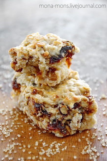 Овсяное печенье для завтрака