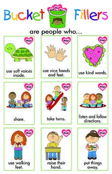 HAVE YOU FILLED A BUCKET TODAY? ACTIVITY PACKET - TeachersPayTeachers.com