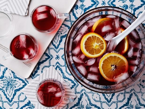 Get Holiday Party Punch Recipe from Food Network