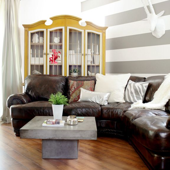 #promisetangemanblogLiving Rooms, Leather Couch