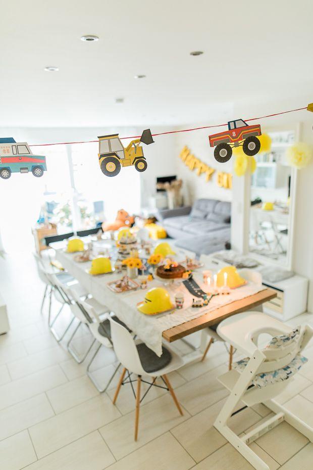 Bagger Kindergeburtstag ohne Bob den Baumeister? Oh ja, bitte! ‹ fräulein flora FOTOGRAFIE