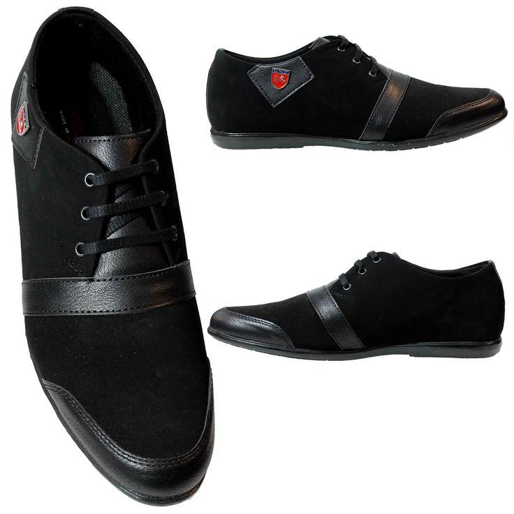Zwarte Heren Sneaker met Suede Details HCS076 De mooiste heren schoenen bestelt u in onze winkel. Bij ons vindt u verschillende betaalbare sneakers, nette schoenen en sport schoenen. U vindt gegarendeerd de exclusieve schoenen die u outfit compleet maakt. Bekijk ons collectie!!! Er is vast wel een s