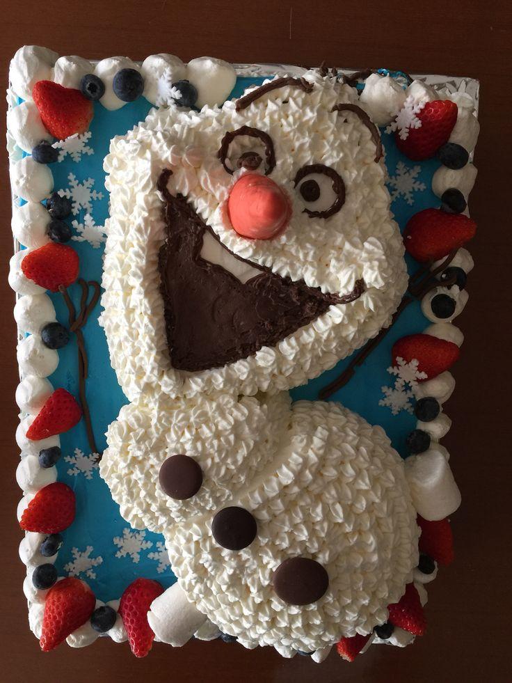 ありの〜〜ままの〜〜なケーキです。