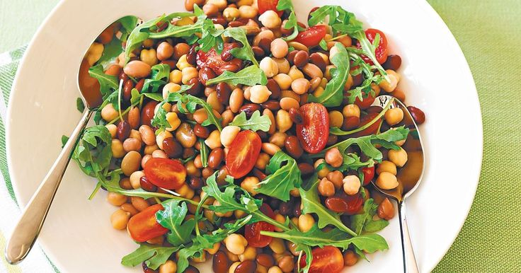 This bean salad makes a perfect accompaniment to a family barbecue.