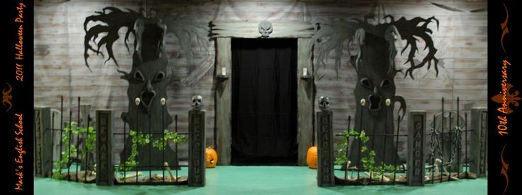 Haunted House Halloween Party Haunted House Decorations