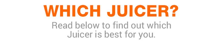 Which is the Best Juicer to Buy - Juice Master Juicer Guide