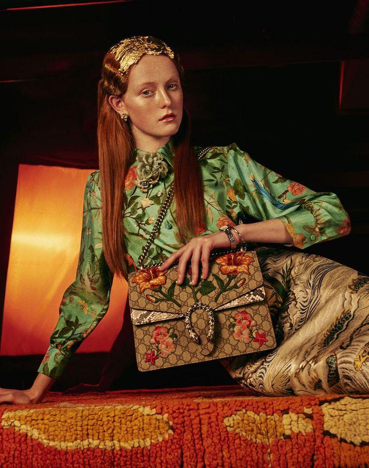 Elizaveta Porodina   Gala / Klimt's Tears   fashion and fine art photography