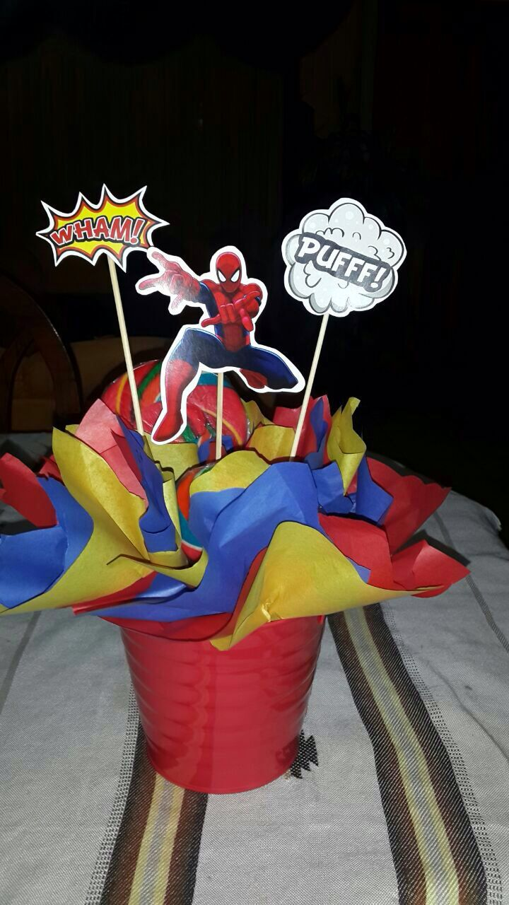 The Avengers deco party! Spiderman