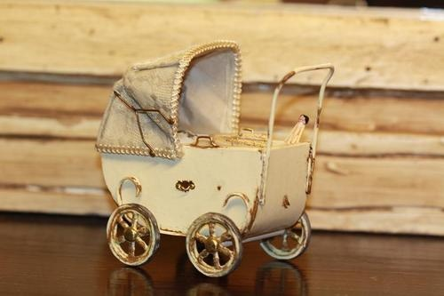 perfect little vintage toy pram.....